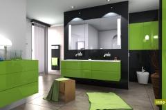 Mönius, Badgestaltung Nürnberg, Badezimmer Ideen, modernes Badezimmer, Kontrast