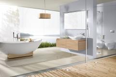 Villeroy  & Boch, Mönius, Badezimmer Inspiration,  freistehende Badewanne